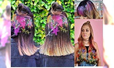 Koloryzacja włosów.... szablonem. HIT czy HIT?
