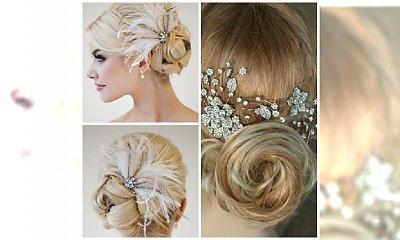Piękne ślubne ozdoby do włosów