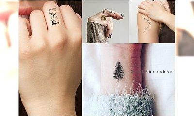 Ale słodkie! Małe tatuaże dla dziewczyn, idealne na nadgarstek lub palec