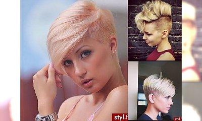 Galeria dla blondynek! Fryzurki dla włosów krótkich 2016!