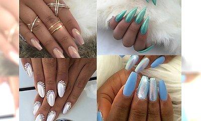 Mermaid nails - urocze propozycje manicure'u z efektem syrenki