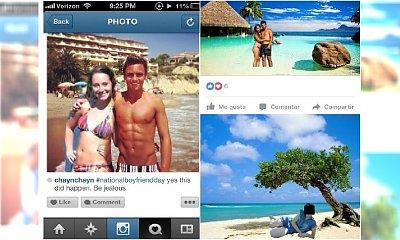 Tak, jasne, byłeś tam... Mieli udane wakacje, ale tylko na Facebooku