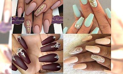 90 stylowych propozycji na long coffin manicure