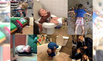 NIE DO WIARY! Oto 40 zdjęć, które udowadniają, że dzieci są w stanie zasnąć dosłownie WSZĘDZIE!