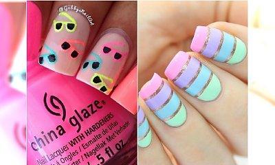 Manicure na lato - miks najmodniejszych kolorów i wzorów