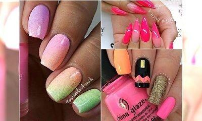 Pomysły na letni manicure - miks modnych wzorów