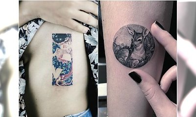 HOT TREND: obrazkowe tatuaże. Te wzory są hitem!