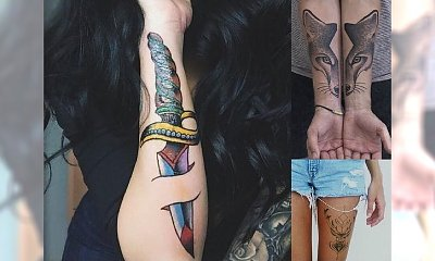 Galeria kobiecego tatuażu - NAJLEPSZE MOTYWY 2016!