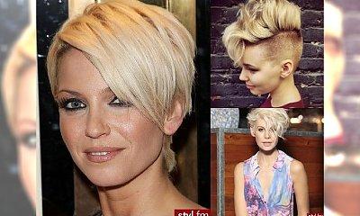 Dla blondynek! Kobiece krótkie fryzury 2017!