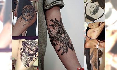 Wyjątkowo urocze, kobiece tatuaże! PRZEGLĄD TRENDÓW 2016/2017!