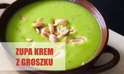 Zupa krem z groszku z serkiem mascarpone