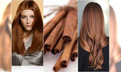 Cynamonowy kolor włosów - ten odcień jest hitem jesieni!