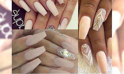 Matowy manicure nude - klasyka, którą kochamy podczas każdego sezonu