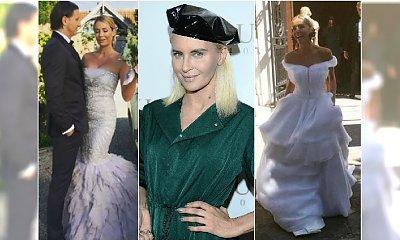 """""""Nieudana, niedorobiona i nijaka"""" - Joanna Horodyńska oceniła suknie ślubne gwiazd. Czyją uważa za klapę?"""