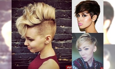 17 krótkich fryzur dla zadziornych, charakternych kobiet!