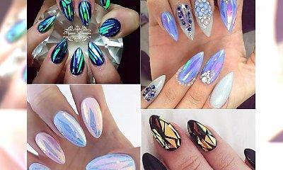 Szklany manicure - efekt zbitego szkła na Twoich paznokciach