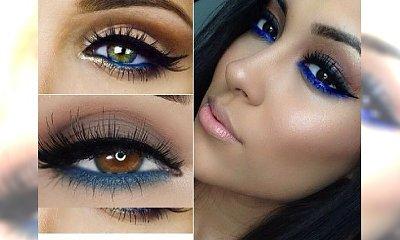 Makijaż z niebieskim akcentem - wyróżnij się z tłumu i podkreśl swoje oczy!