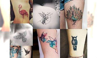 BIRD TATTOOS - AŻ 40 najbardziej stylowych tatuaży w historii! Ten motyw to prawdziwy HIT 2017!