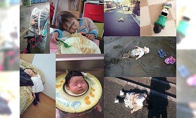 """Chińczycy rywalizują, kto bardziej zmęczy swoje dziecko, żeby zrobić jak najbardziej """"szałowe"""" zdjęcie, kiedy ich pociecha pada ze zmęczenia. Czy to jest normalne..?!"""