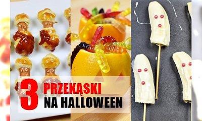 3 przekąski na Halloween (przerażą Twoich gości!)