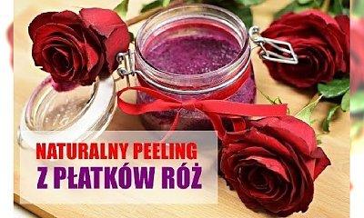 DIY Peeling różany domowej roboty
