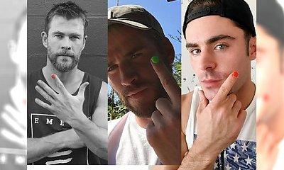 Mężczyźni malują sobie paznokcie. Zobacz, o co chodzi!