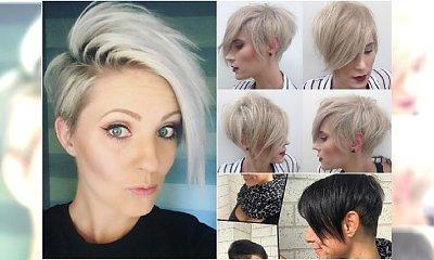 Krótkie fryzury z grzywką 2017 - rewelacyjne cięcia prosto z salonu!