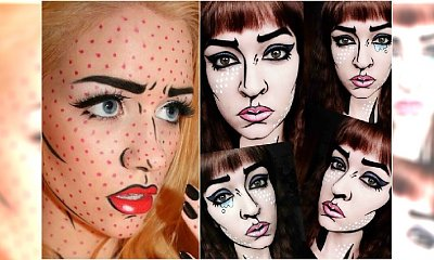 Podsuwamy pomysł na Halloween: makijaż jak z komiksu! Świetny efekt i wcale nie taki trudny