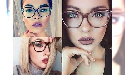Najpiękniejsze makijaże, dla dziewczyn, które noszą okulary - przegląd