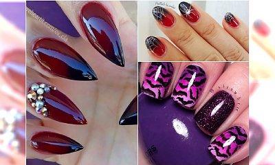 Paznokcie ombre w halloweenowym wydaniu - 25 pomysłów na mroczny manicure