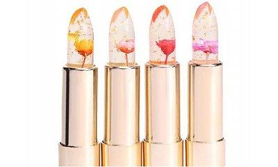 Kosmetyczny hit: Jelly Flower Lipstick - pomadka, która zmienia kolor pod wpływem temperatury