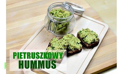 Hummus pietruszkowy - idealny do kanapek