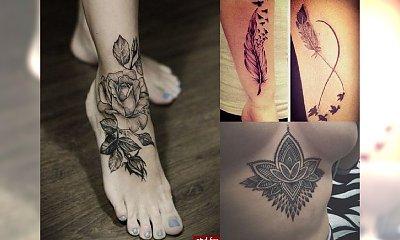Pokochasz te tatuaże! Ekstra kobiece motywy 2017!