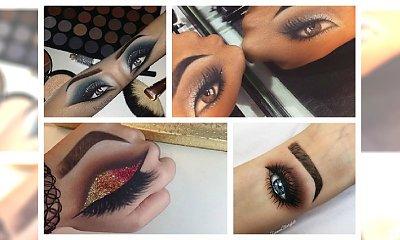 Trend panujący wśród najlepszych makijażystów! Przedstawiamy Wam przepiękne makijaże na dłoni.