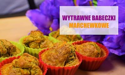 Wytrawne muffiny z marchewką