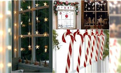 Dekoracje świąteczne na okno - 20 fantastycznych pomysłów na Boże Narodzenie