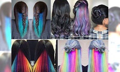 Kolorowy zawrót głowy: Underlights, czyli zwariowana koloryzacja w sam raz na zimową chandrę