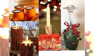 DIY: bożonarodzeniowe świeczki, które z łatwością wykonasz sama