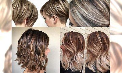 Bob i refleksy - idealne połęczenie, by ocieplić fryzurę  jesienną porą