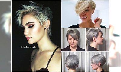 Krótkie fryzury: z grzywką, asymetryczne, undercut. Galeria najlepszych propozycji z Instagrama!