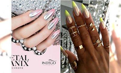Chromowe ombre na paznokciach - HIT w manicure! Zobaczcie najpiękniejsze wzory