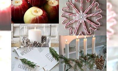 WOW! Piękne dekoracje świąteczne, które zrobisz sama niskim kosztem. ZACZARUJ wnętrze swojego domu!