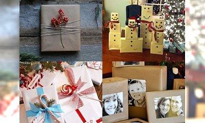 Jak efektywnie zapakować prezenty na Mikołajki i Święta? Galeria najpiękniejszych propozycji!