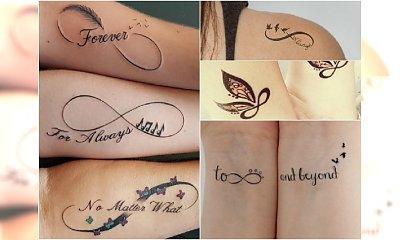 Tatuaż z symbolem nieskończoności - z jakim motywem go połączyć? Podsuwamy super pomysły na wzór