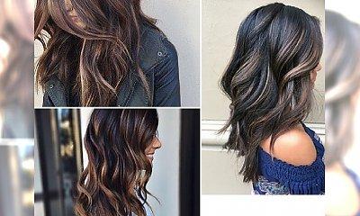 Lowlights - ledwo widoczne refleksy, które subtelnie ożywią ciemny kolor włosów