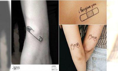 Pomysłowe tatuaże - te wzory mają sens! Uśmiechniecie sią na ich widok