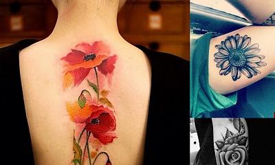 15 tatuaży, które hipnotyzują! GALERIA TRENDÓW 2017!