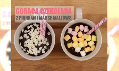 Gorąca czekolada z piankami Marshmallows - gęsta i obłędnie pyszna!