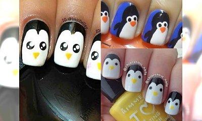Ten pingwinowy manicure cię rozbawi! Przywitaj 2017 rok z humorem!