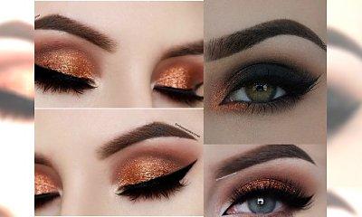 Copper smokey eyes czyli oko spowite miedzią i zlotem to HITOWY makijaż na Sylwestra 2016/2017